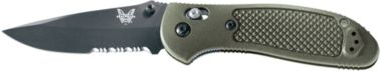 Benchmade® D2 Steel Griptilian® Serrated Knives