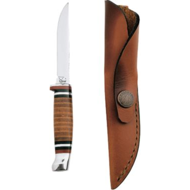 W.R. Case & Sons® Leather Hunter XX Fixed-Blade Knives