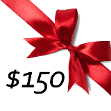 $150 GIFT CERTIFICATE PROMO CODE