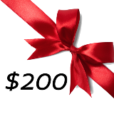 $200 GIFT CERTIFICATE PROMO CODE