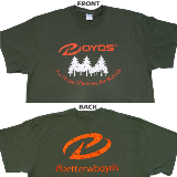 BOYDS T-SHIRT - THOSE WHO LOVE WOODS - X LARGE