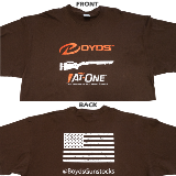 BOYDS T-SHIRT - AT-ONE - X LARGE