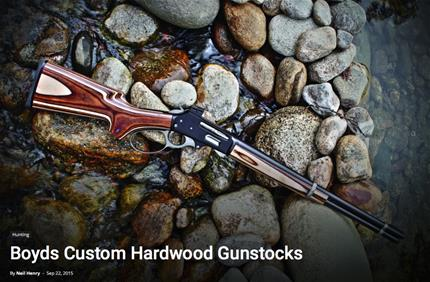 Marlin 336 Gunstock in On Target Magazine | Boyds Hardwood
