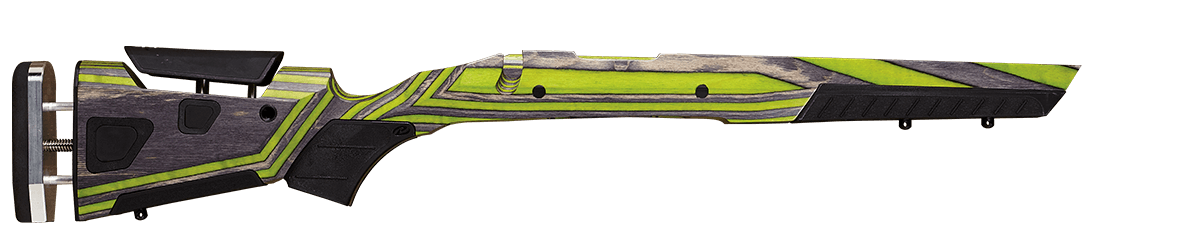 Gunstock color zombie