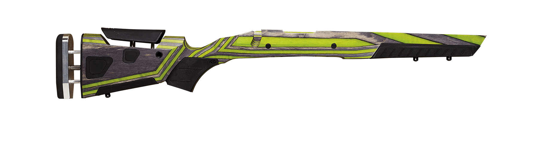 at-one adjustable gunstocks green