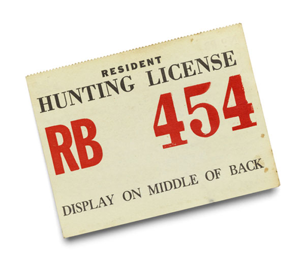 Hunting License and Permit